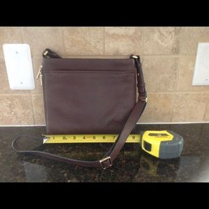 Fossil crossbody leather purse - NWOT